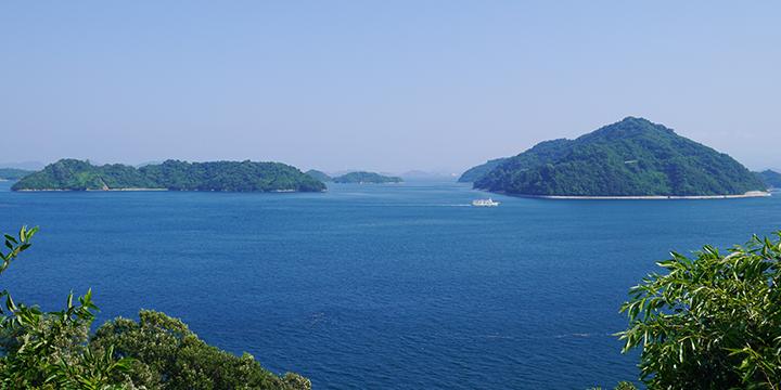 오사키카미지마의 풍경