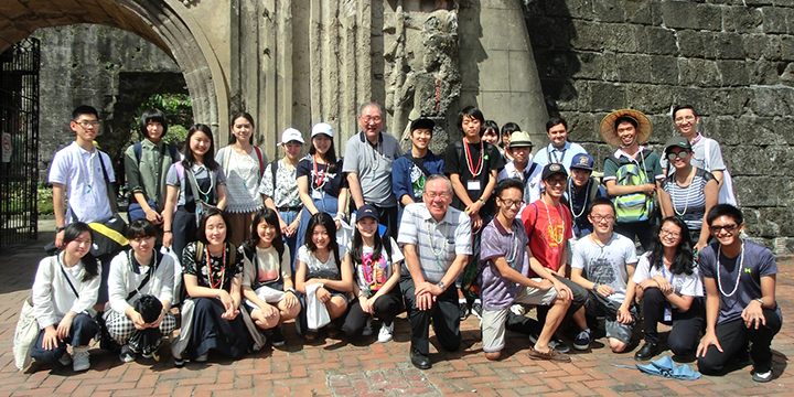 글로벌 미래 학원 필리핀에서의 연수