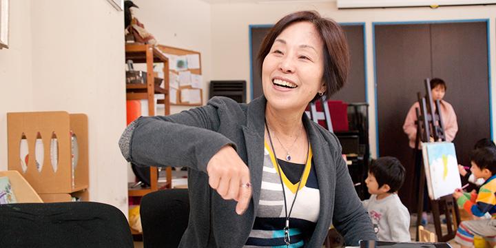 이번 달의 욕심장이씨 오카모토 레이코씨